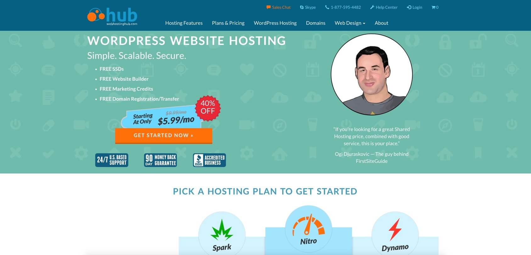 Web Hosting Hub-Homepage