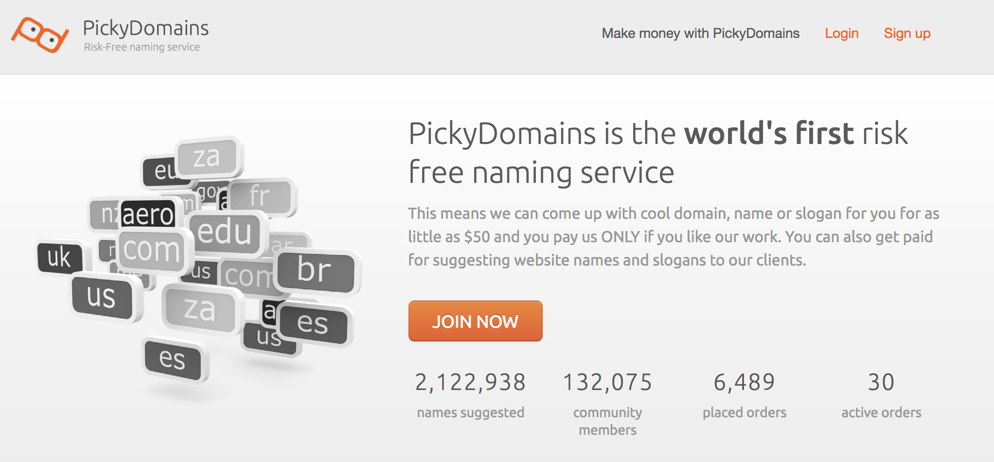 pickydomains Homepage