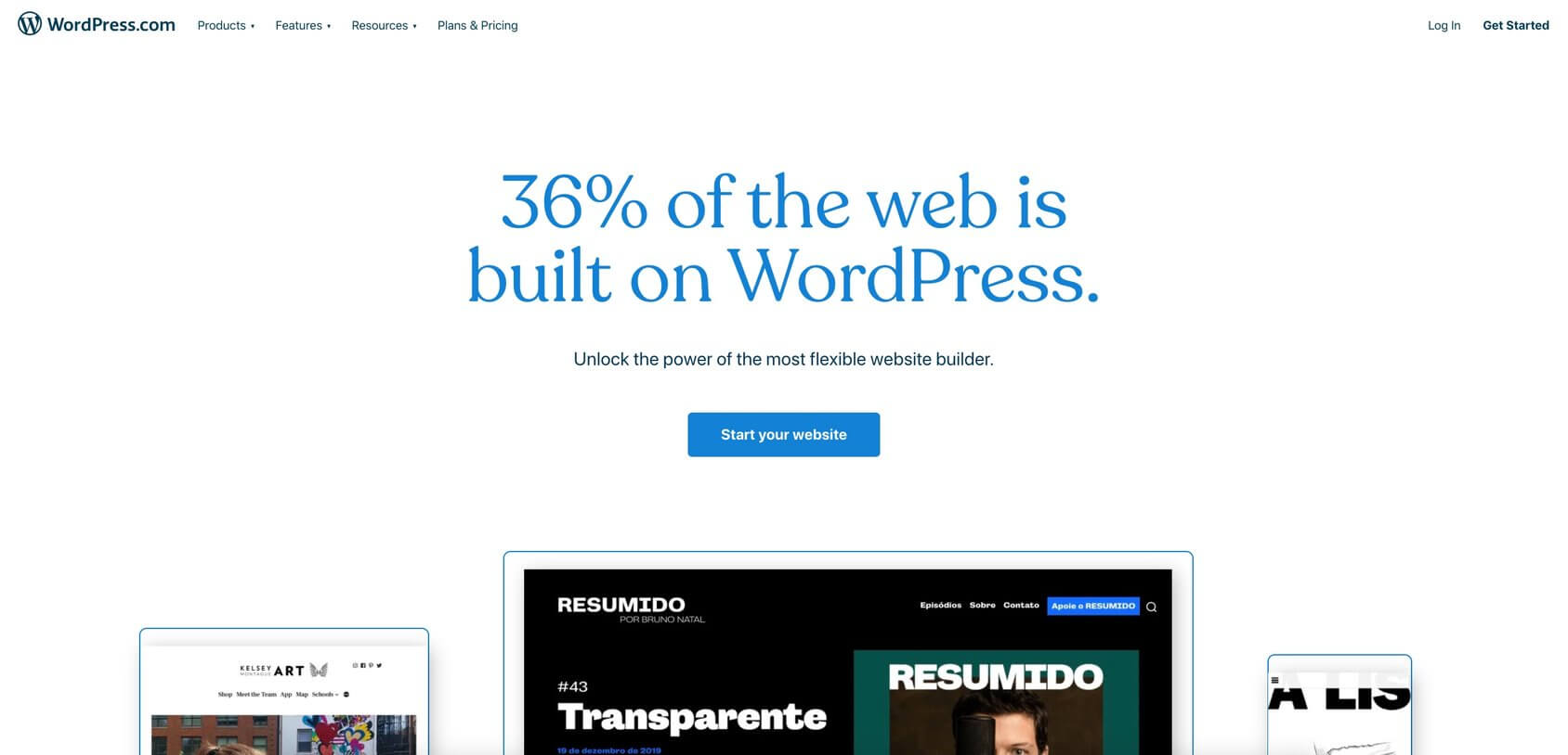WordPress.com tuisblad